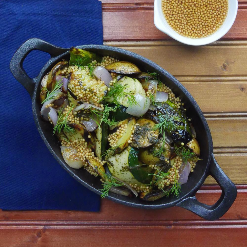 Walnut Pesto Zucchini
