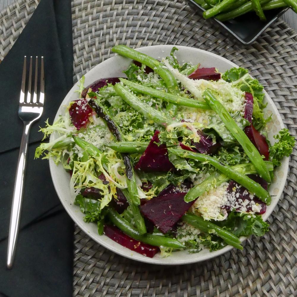 Kale & Beet Caesar
