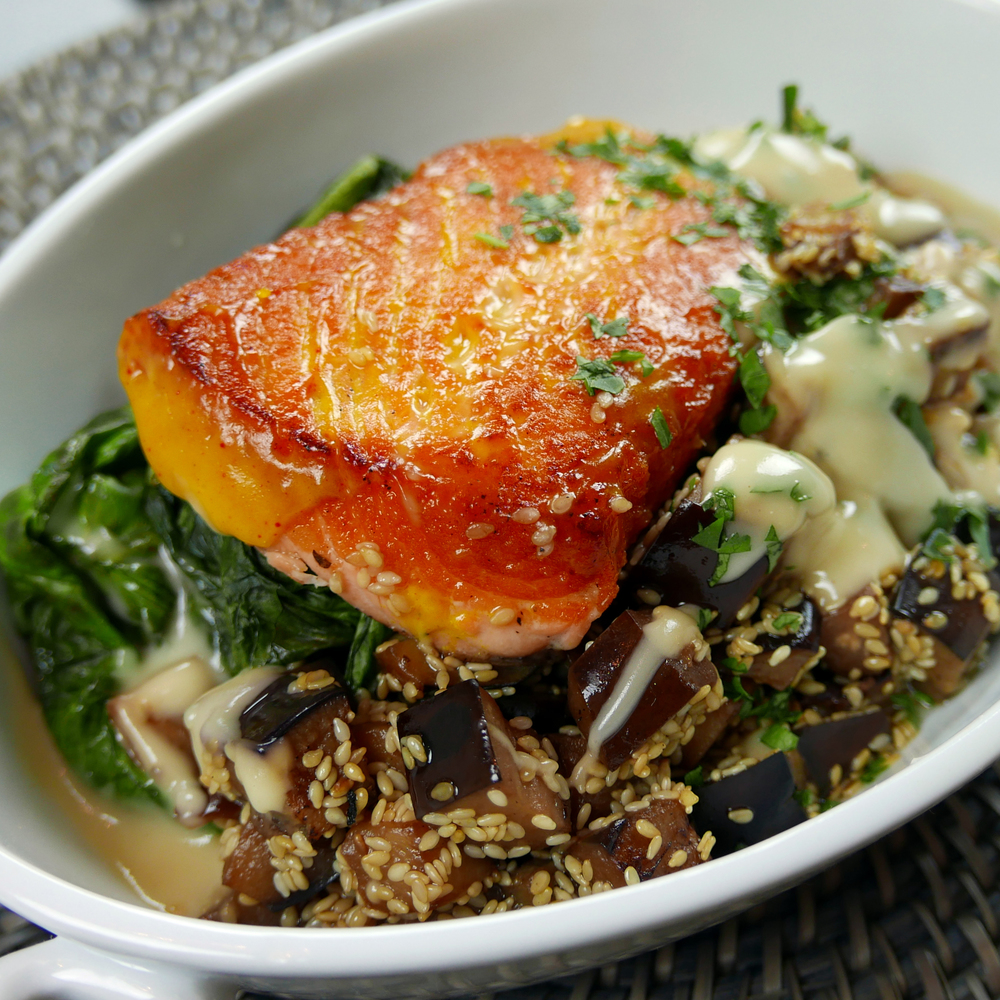 Coconut Glazed Salmon