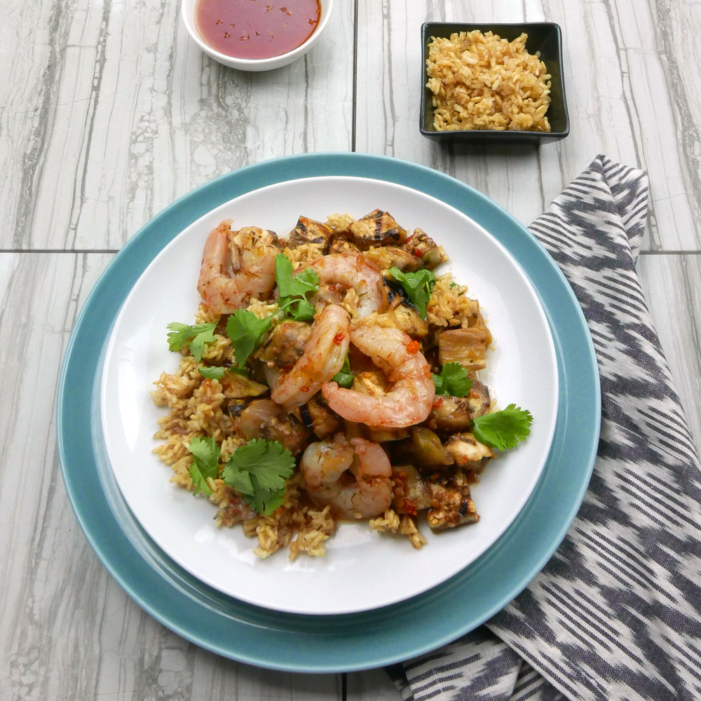 Thai Shrimp & Eggplant