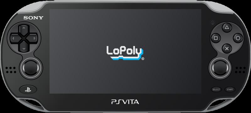 LoPoly Vita