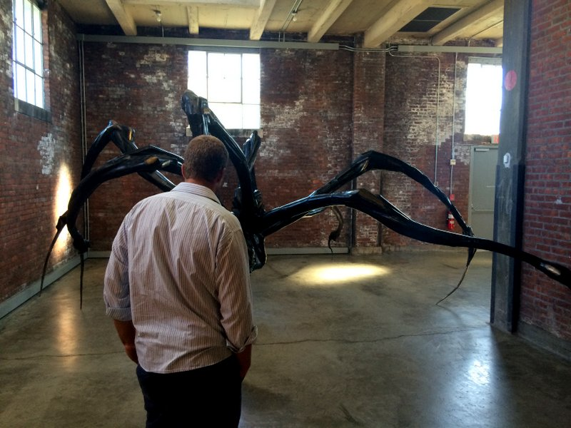 ... a monster like this Louise Bourgeois sculpture!