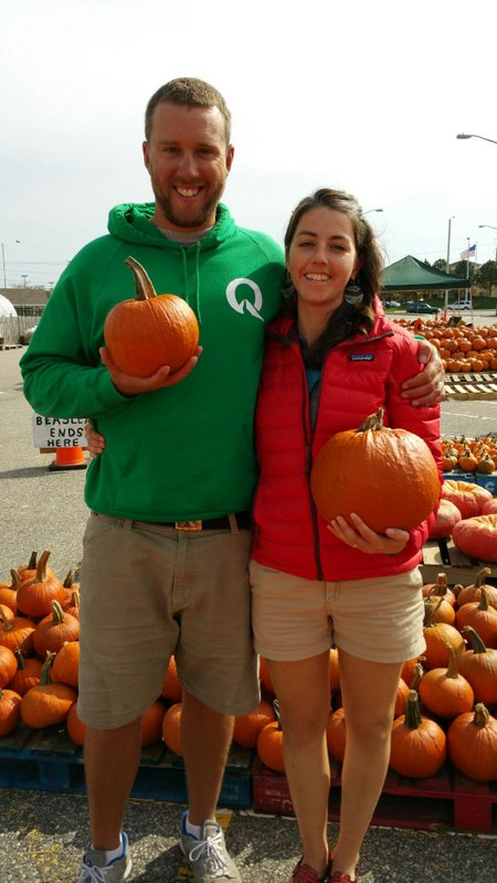 Pumpkin picking in Virginia Beach