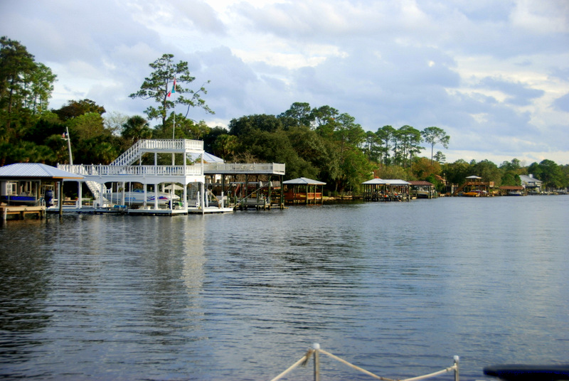 It seems like every house that backs the ICW in Florida has at dock and a boat.