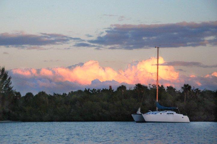 One of many stunning Florida sunsets.