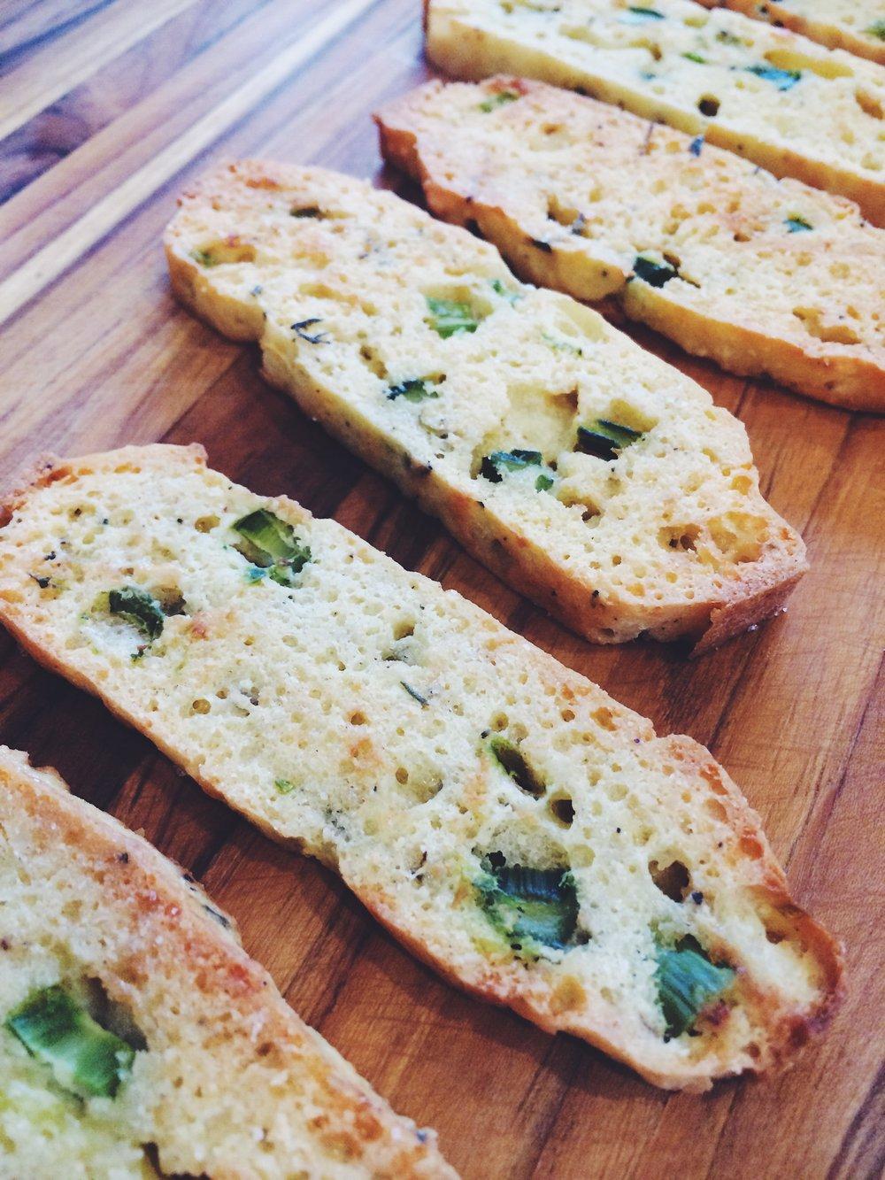 Almond Asparagus Flatbread
