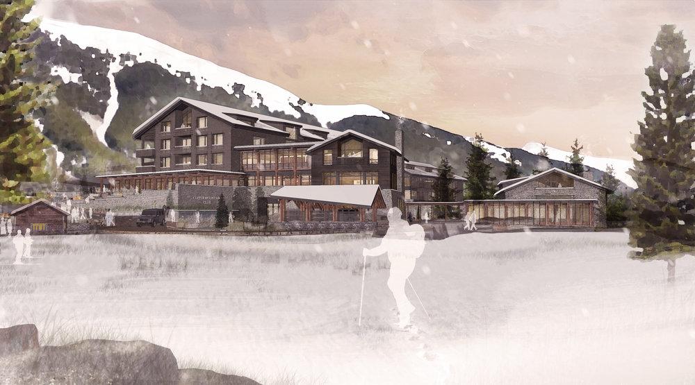 Copper Mountain Club ski village
