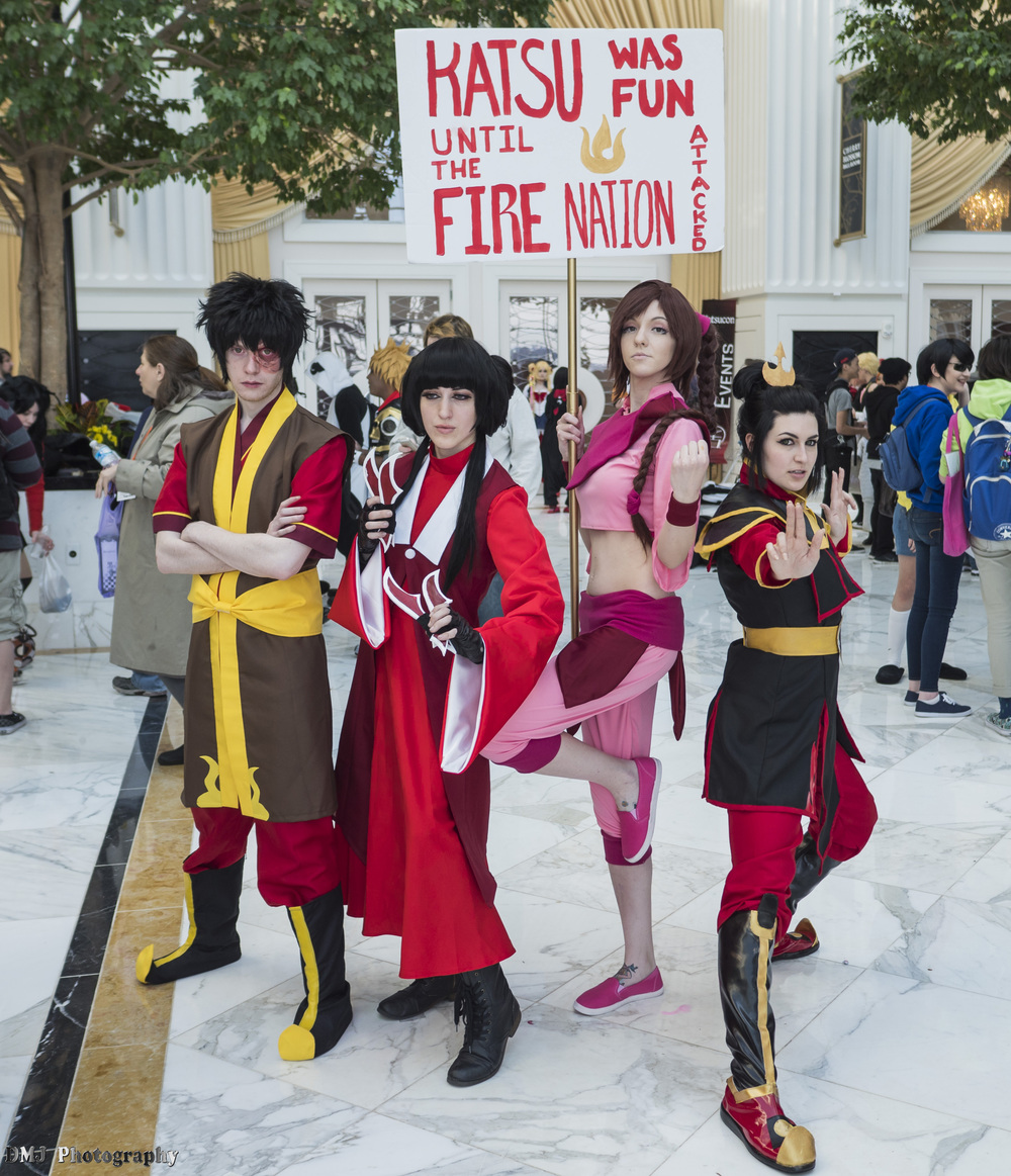 Down with the Fire Nation!