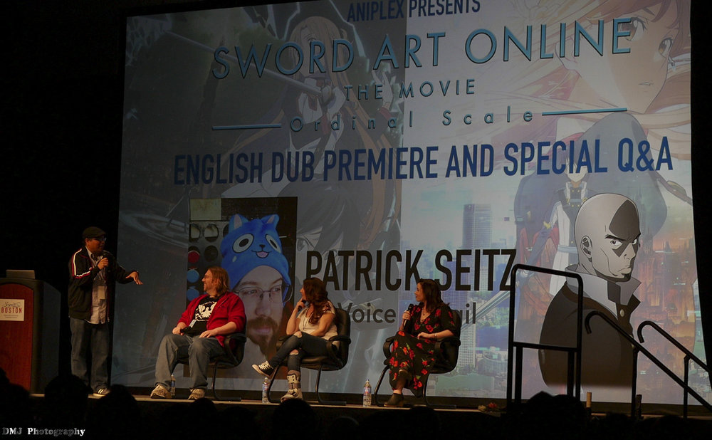 Guest Panel after the SAO Movie Dub Premiere