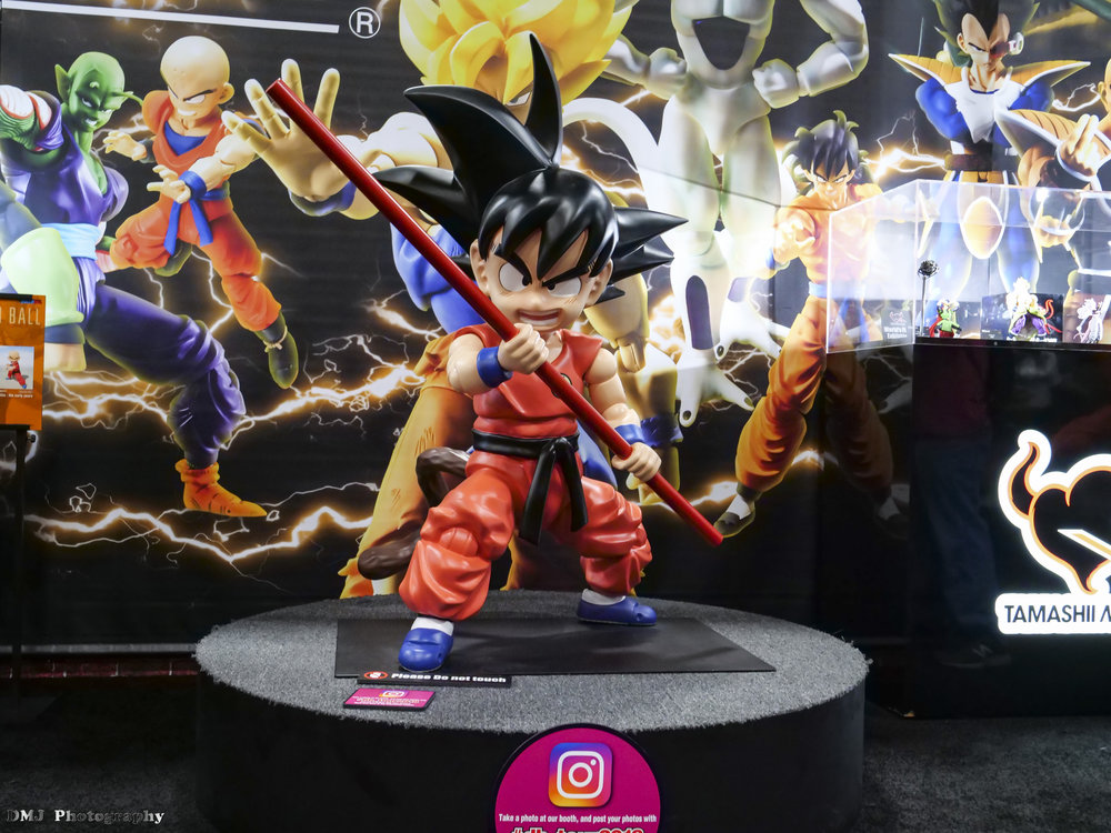 Dragon Ball Tour display at the Dealers Room