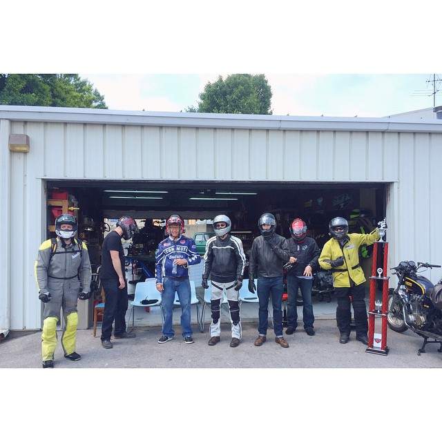 So it begins! LeMans Start #PMS24  (at Nashville Motorcycle Repair)