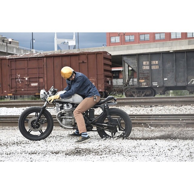 #TBT really miss this dirty CX  @blackbirdsassembly shoot for @native_nashville issue August 2013 photo by: @yveassad (at Cummings Station)