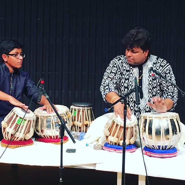 Great tabla solo by Subhankar Banerjee -- fun making this happen with Spicmacay at @stanford