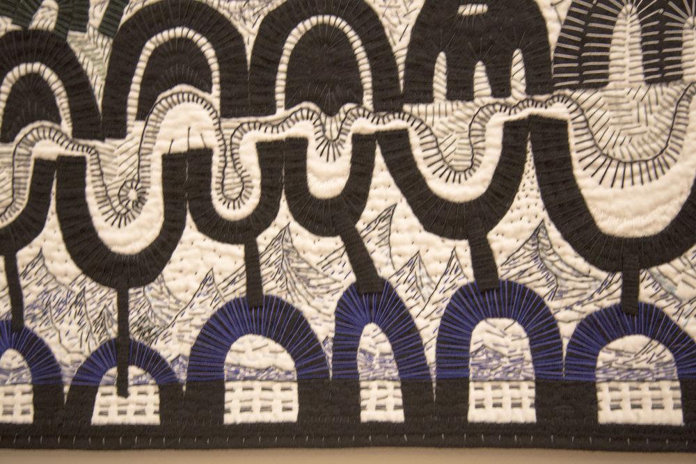 Diane Siebels (VA), Black/White Landscape  (macro)