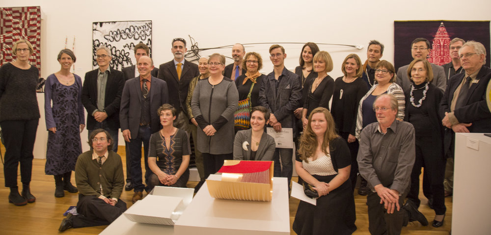 Group photo of the artists who could attend, as well as juror, Stefano Catalani... Congratulations and best wishes to all those artists who were not able to be included in this photograph...