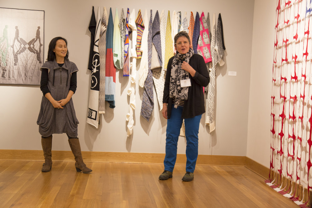 Susie Brandt (MD),  Snow Fence (Mi-Kyoung Lee, left)