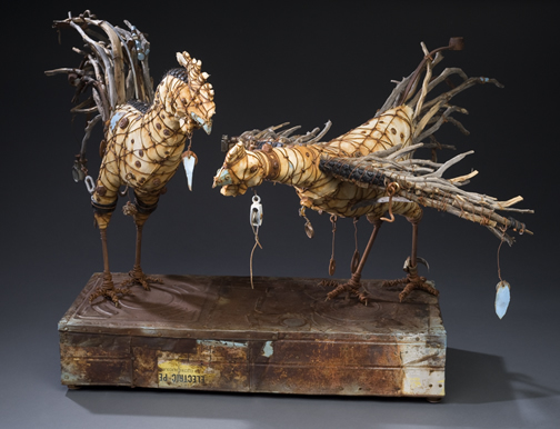 """The Courtship of Purcit and Osmia"", Geoffrey Gorman"