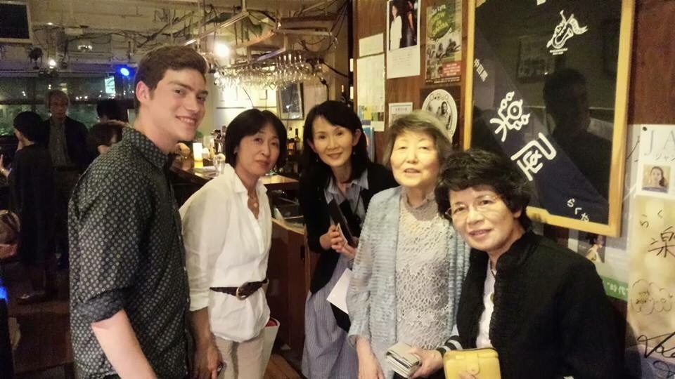 Many of Masaki's friend and family came to join!