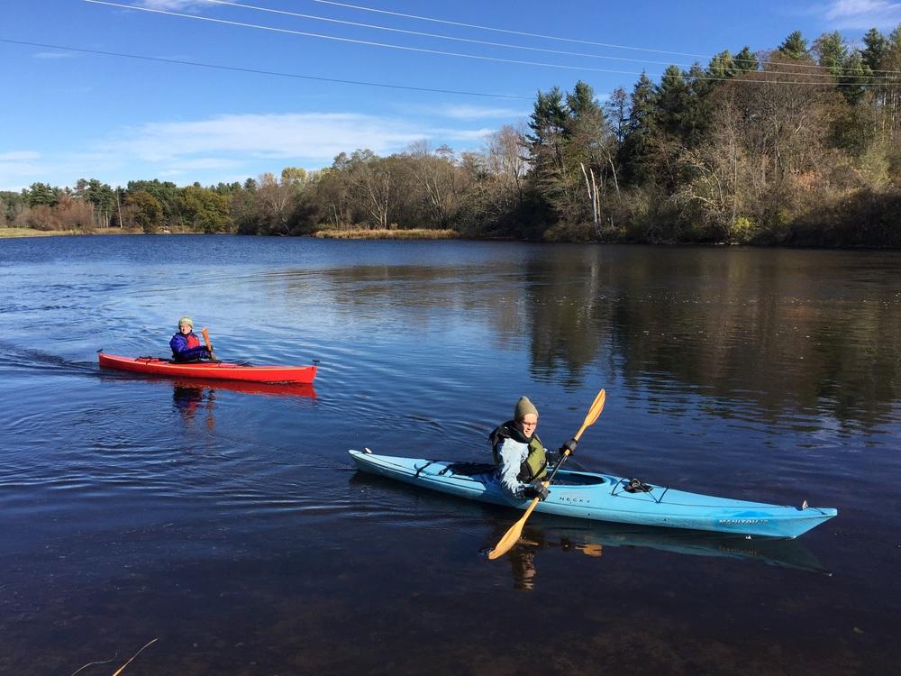 Kayaks in Vermont
