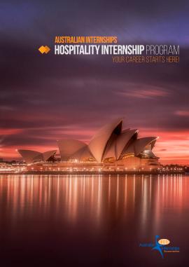 Hospitality Internship Program