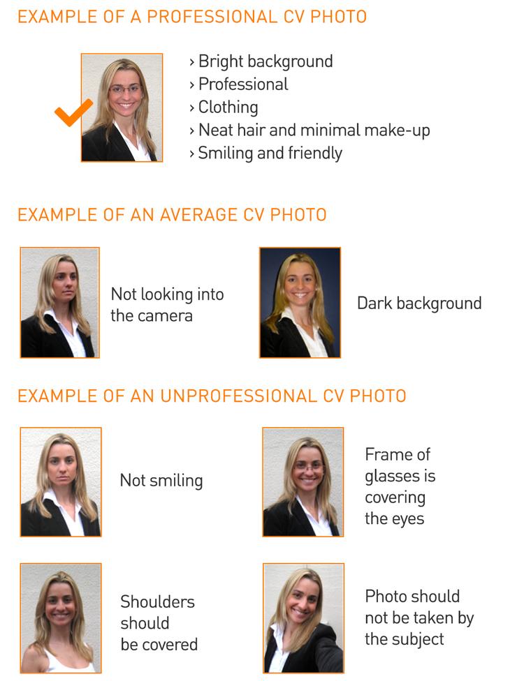 foto cv Letter of Objectives & CV Templates — Australian Internships