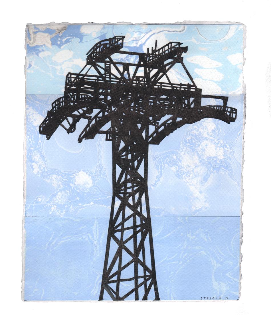 William Steiger, Tram tower