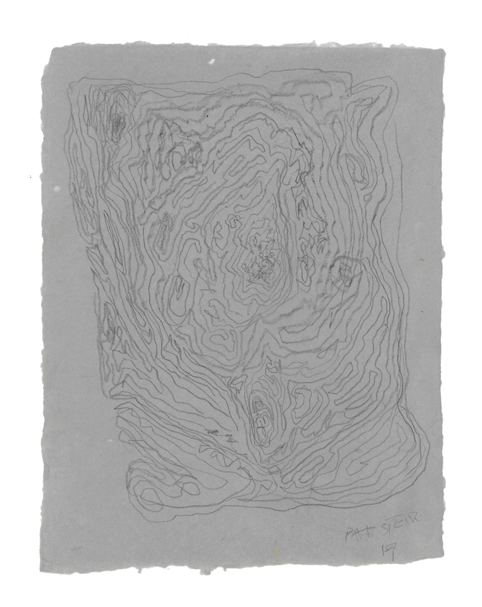 Pat Steir, Untitled Drawing