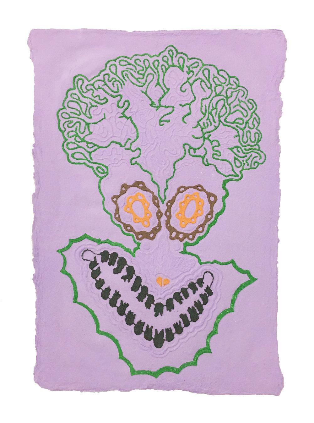 Daniel Wiener   Clip The Neurons , 2017  Paper pulp