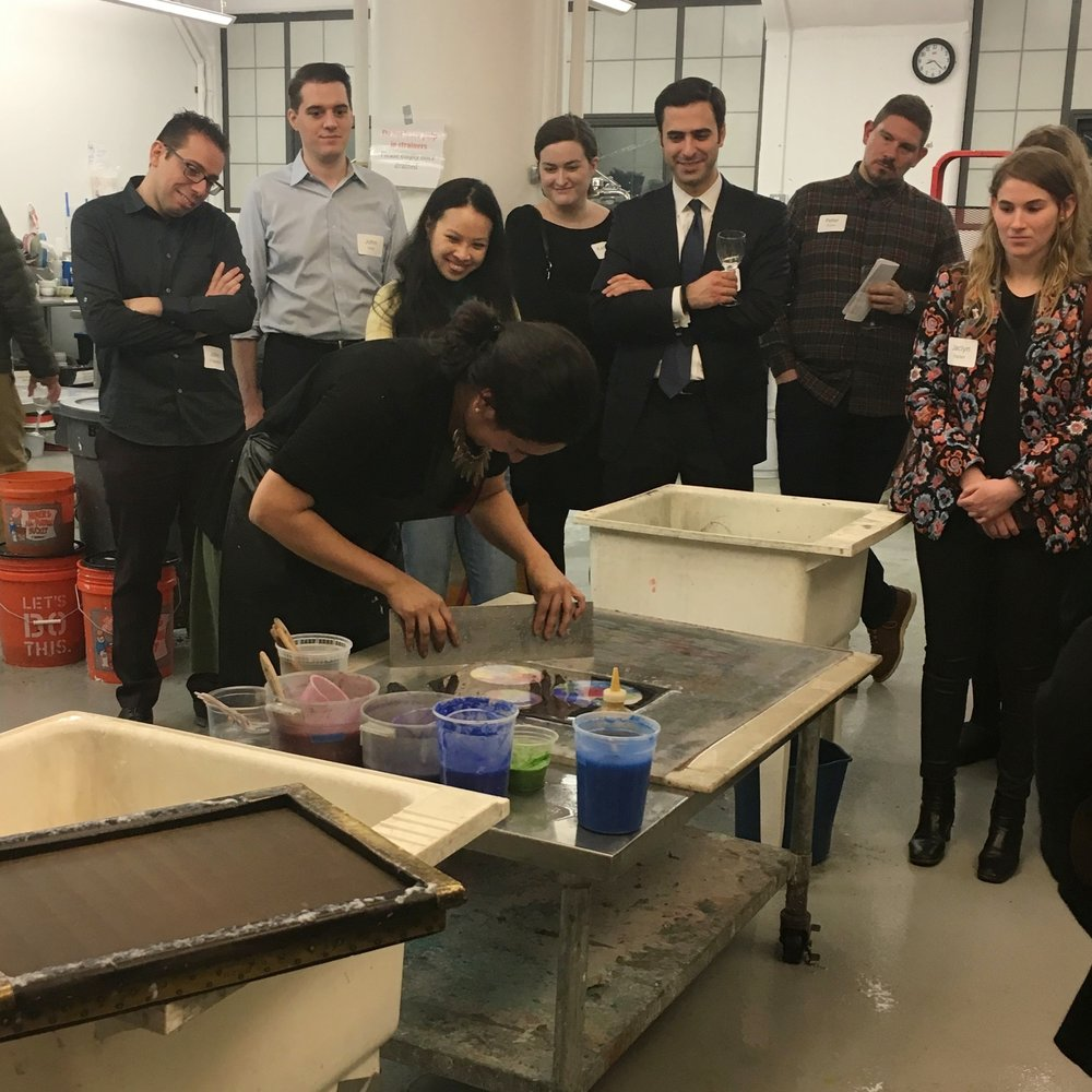 Papermaking Demonstration for MoMA Junior Associates