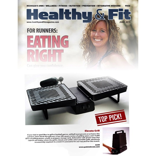 """If your #dad or #grad likes to #grill at #football games, #softball tournaments or at home this #summer, then check this grill out."" Check us out on Healthy & Fit's Top Picks! #pictapgo_app"