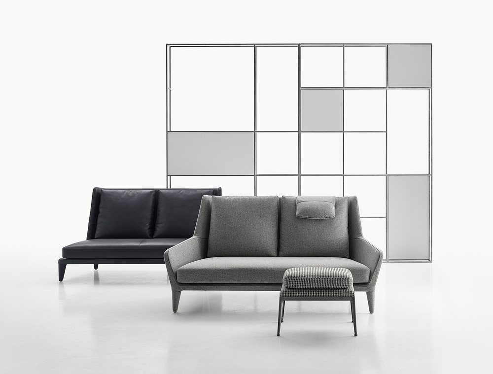 The Sofas Have Been Designed To Enhance Comfort With A Wide Seat And A High  Backrest, Which Can Also Be Fitted With A Headrest, Studied To Ensure  Efficient ...