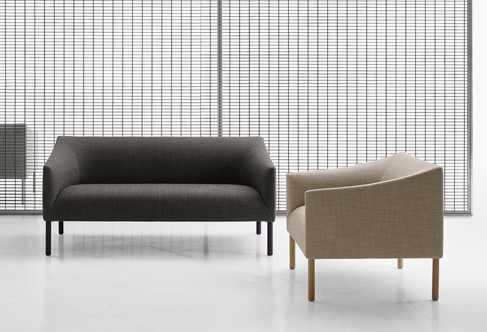 B&B Italia Bankside sofa and armchair — Milan News 2017 - Space ...