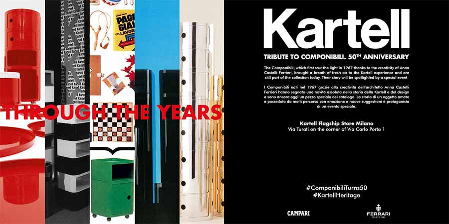 Kartell: A Tribute to Componibili — Milan News 2017 - Space Furniture