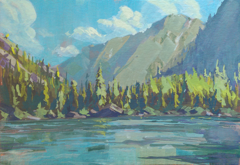 Study of Stuart Lake