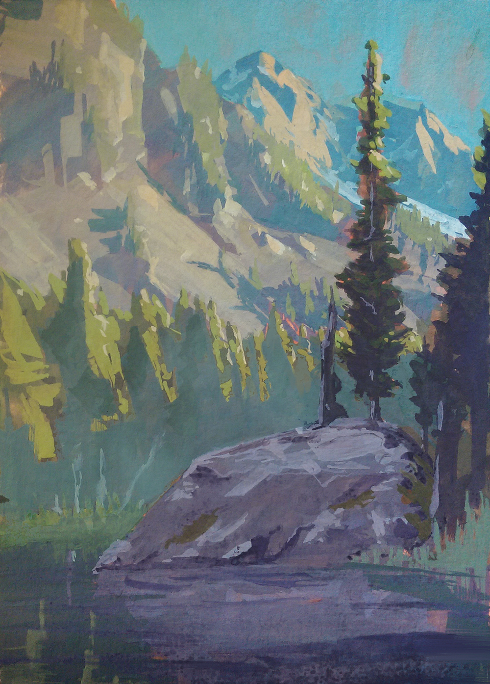 Study of Stuart Lake #2