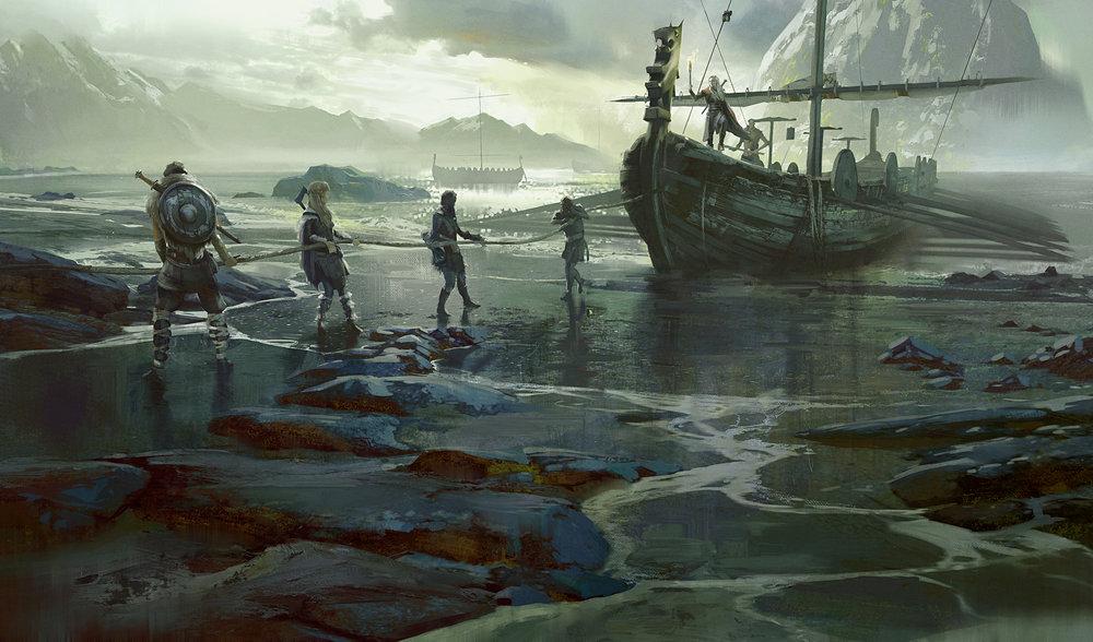 Dungeons & Dragons Storm King's Thunder - Northlander Longship