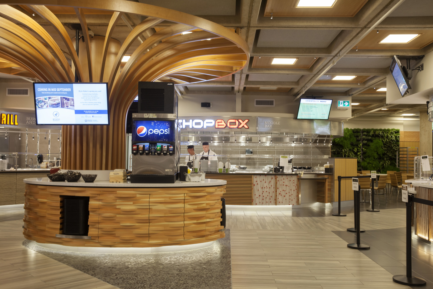 UNIVERSITY OF VICTORIA FOOD SERVICES PROJECT