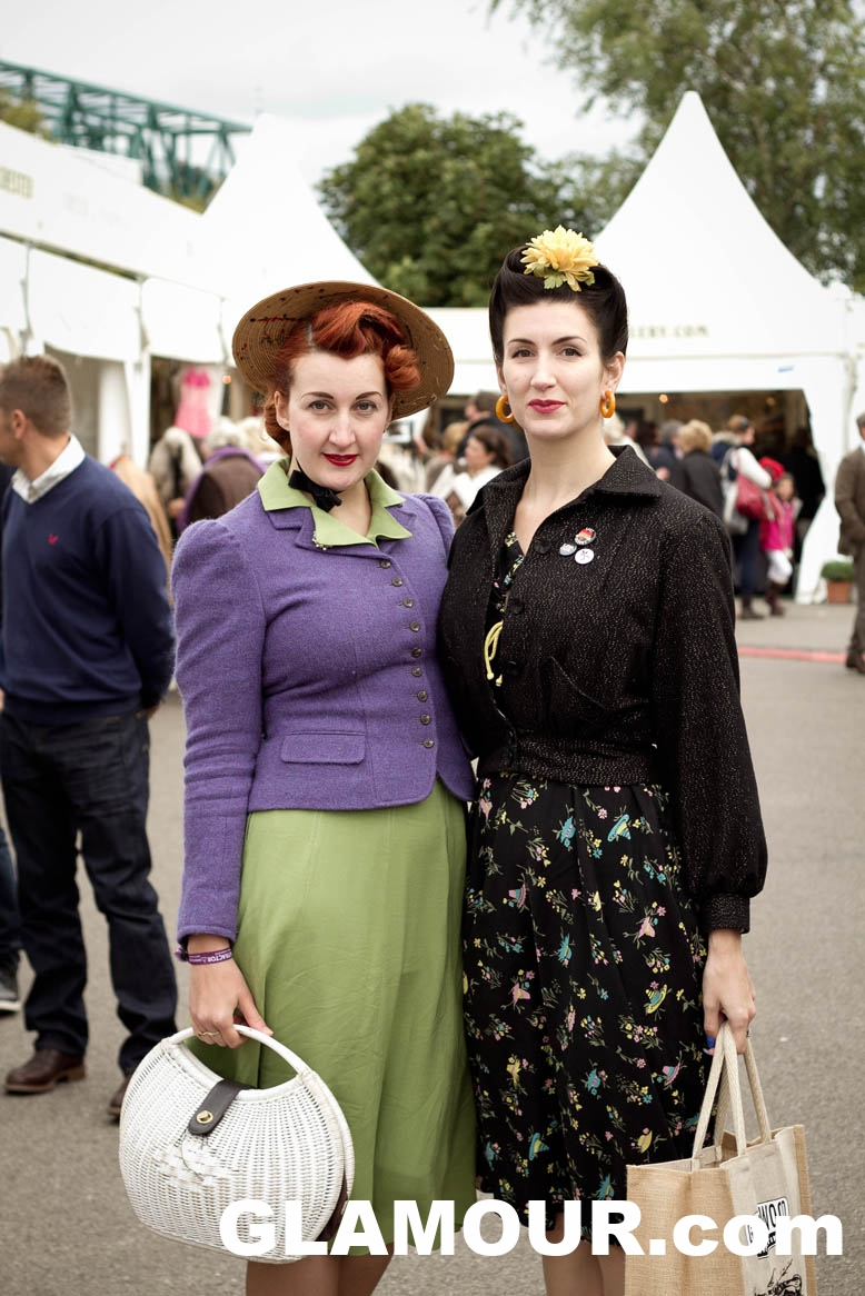 Goodwood fashion. Click to read on GLAMOUR.com