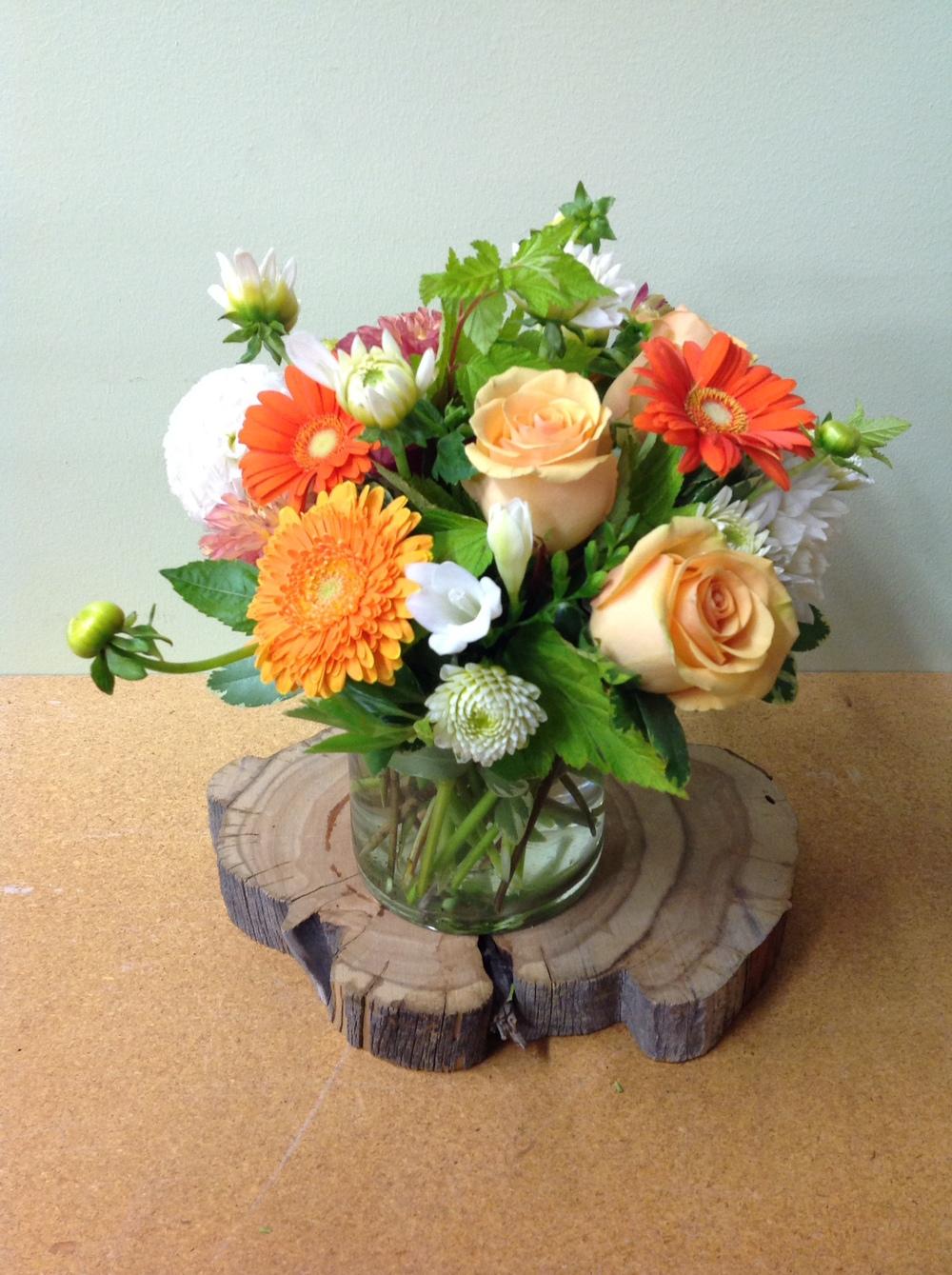 7. Gerbers and Roses