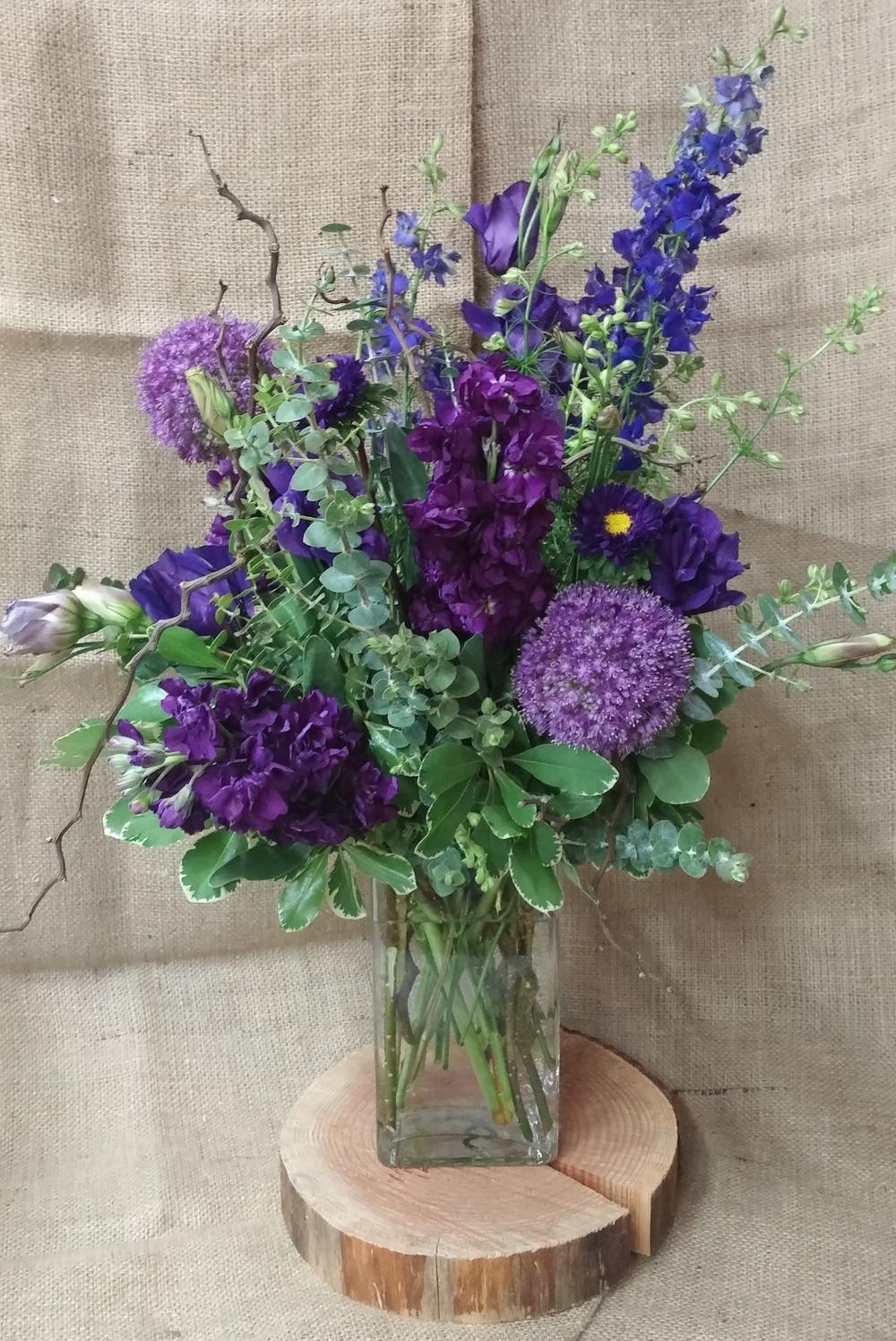 62. Purple Garden
