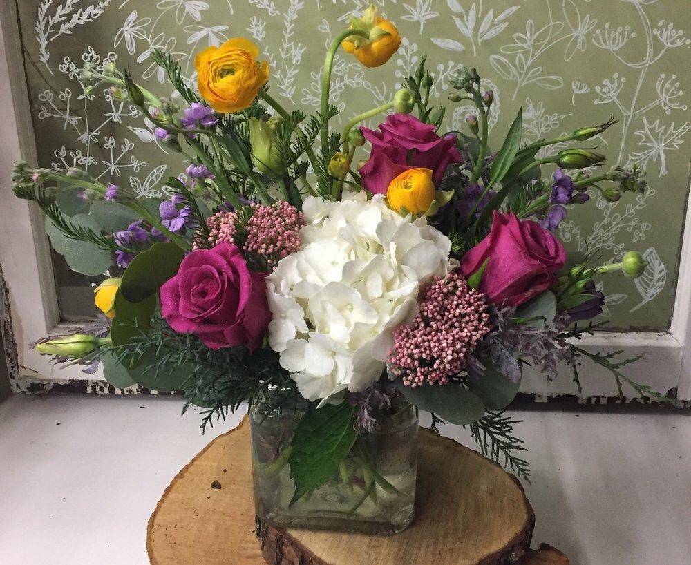 80. Soft Spring Vase