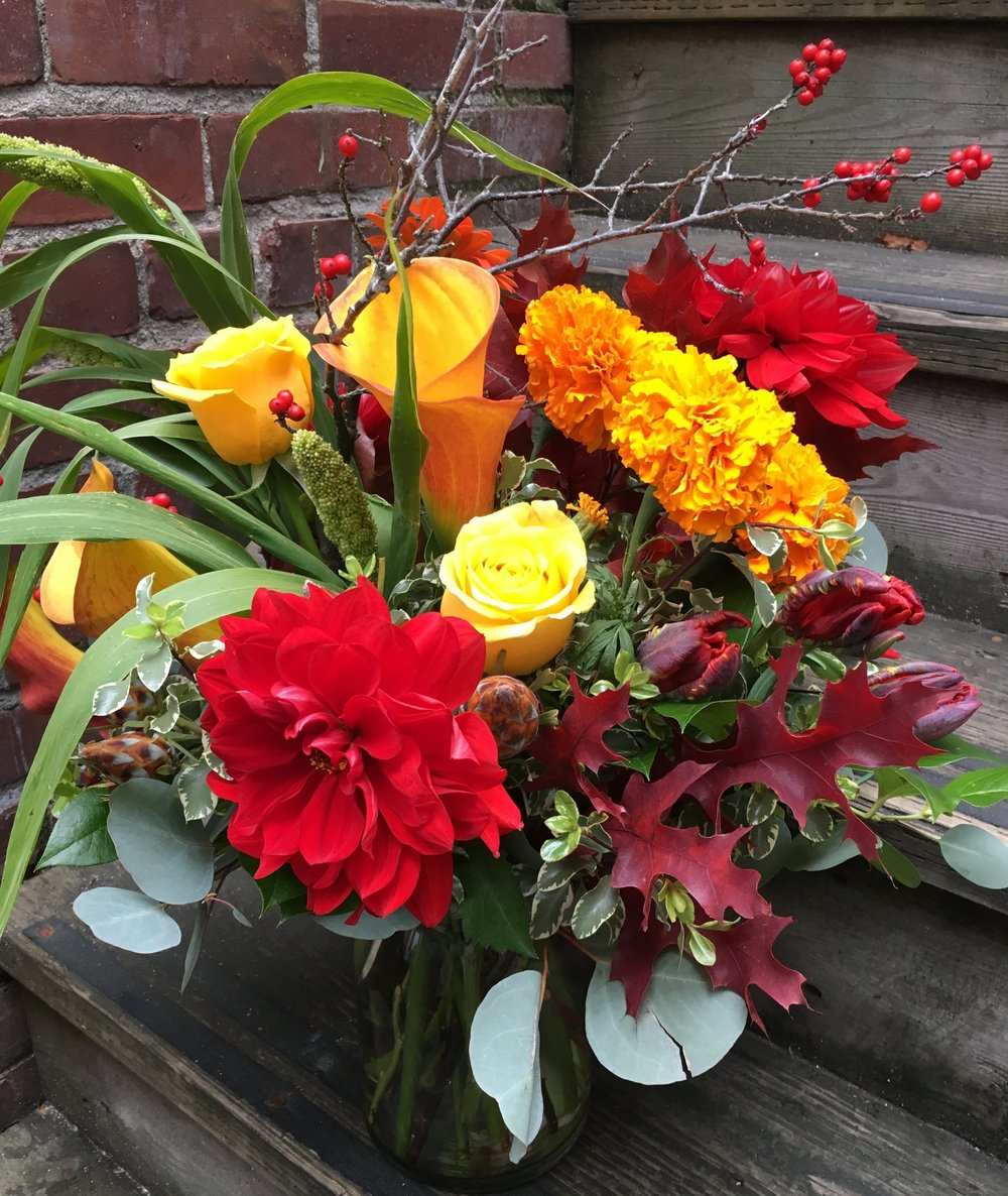 16. Hot Fall Arrangement