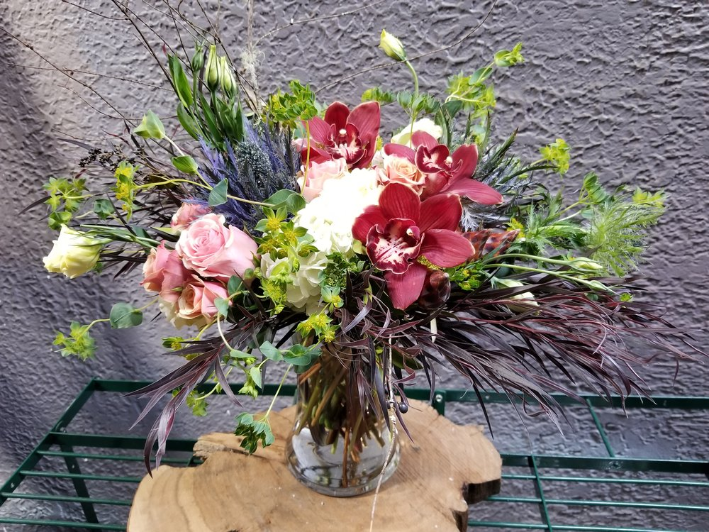 17. Romantic Autumn Arrangement