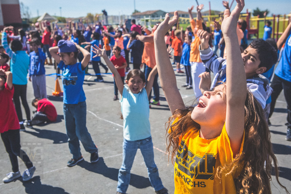 Eastin Elementary Guinness World Record - Square Dancing Event