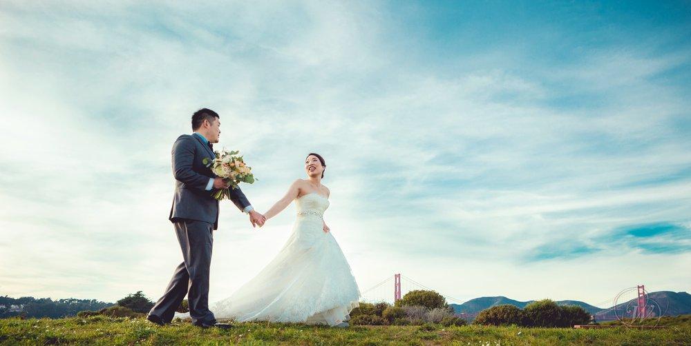 Gozo + Yuka Wedding Portraits