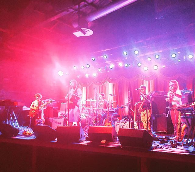 #soundcheck ✔️ @laracwass in the house✔️ @brooklynbowl @fishbonesoldier @rootsofcreation ✔️