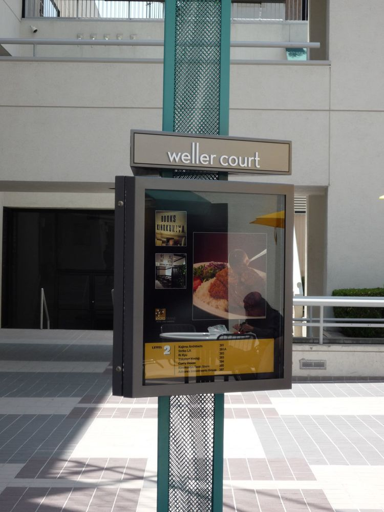 Weller Court Shopping Center Ampersand Contract Signing Group
