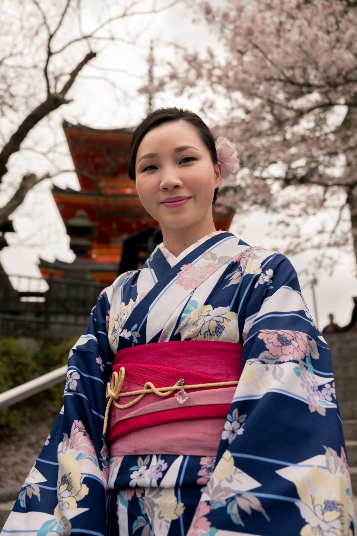 Taiwanese tourist, Kyoto.