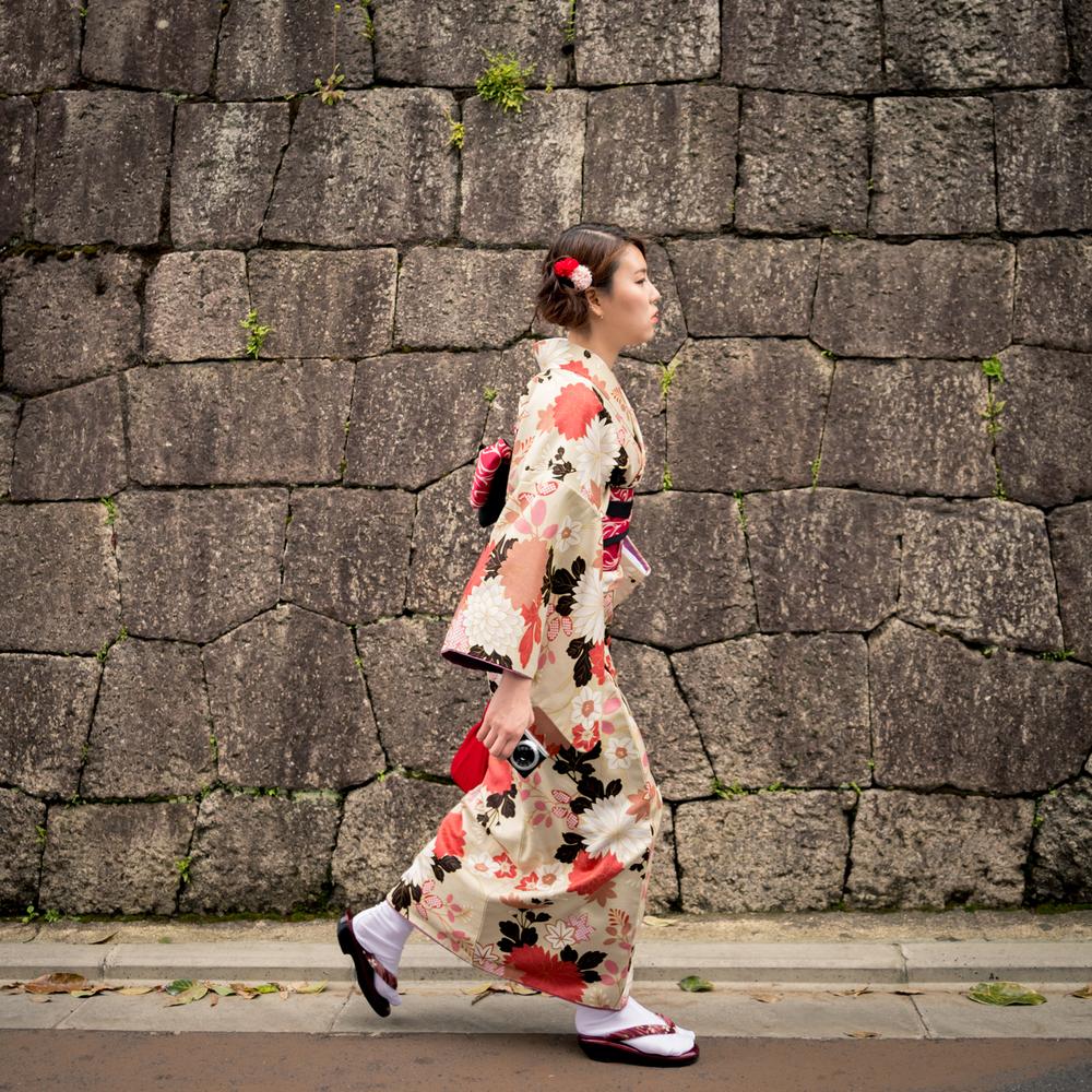 Selfie ready, Kyoto.