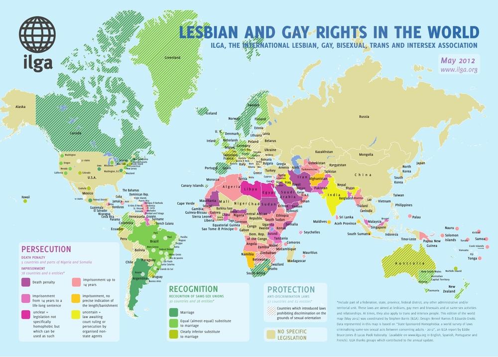 LGB rights worldwide